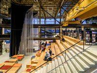 LocHal Tilburg tribunetrappen