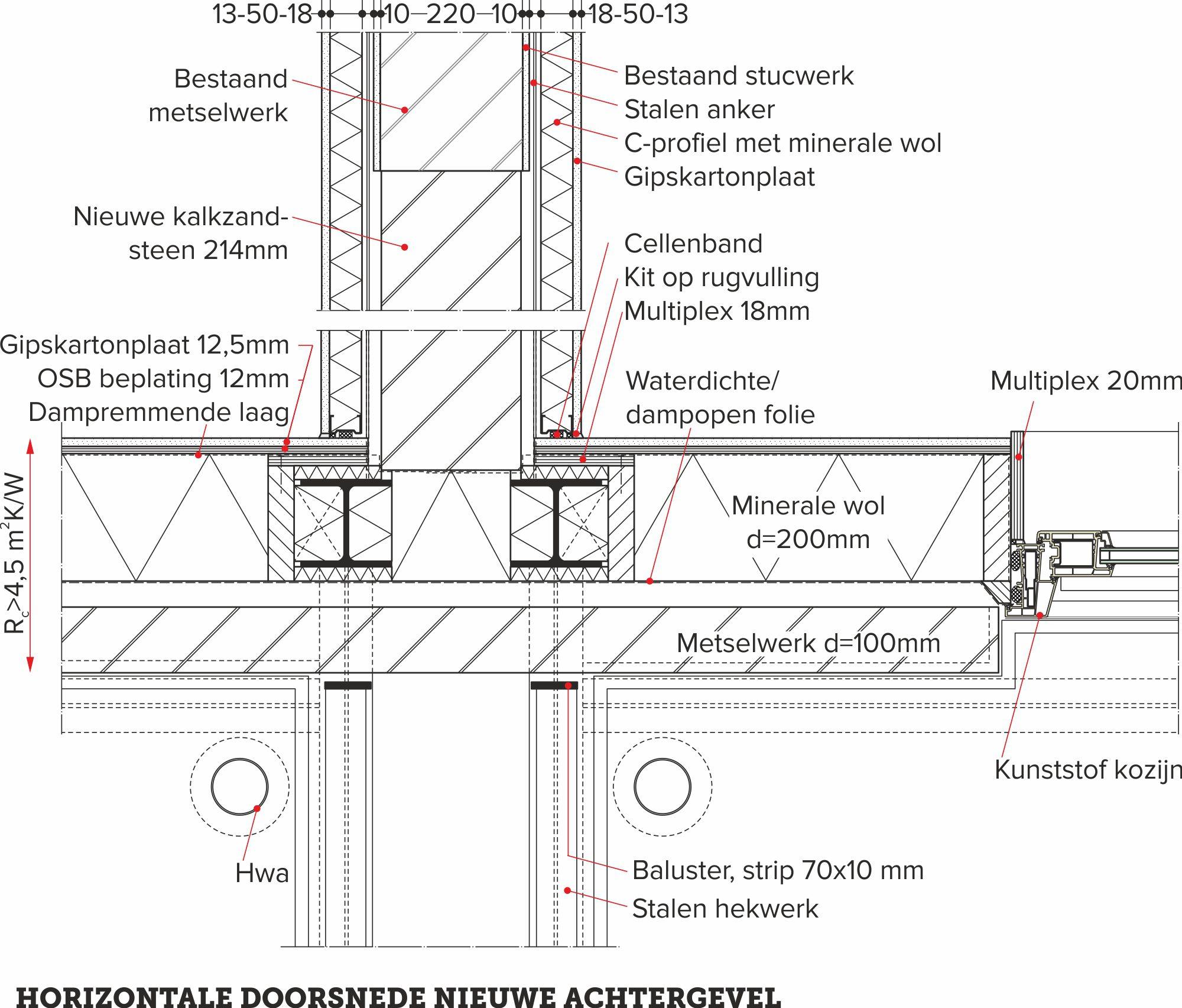 detail van de dag, vrijdragende balkons