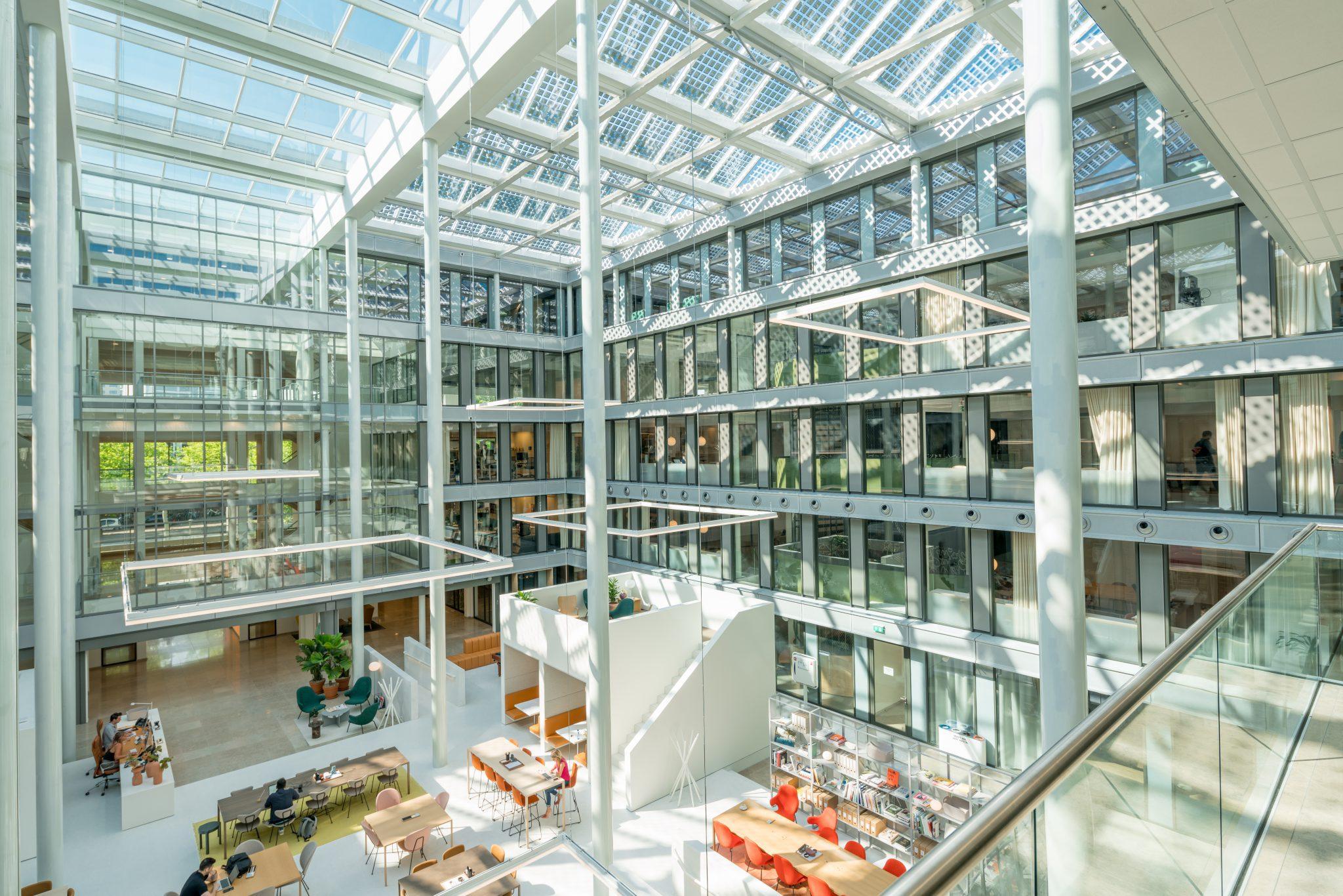 atrium, renovatie, amsterdam