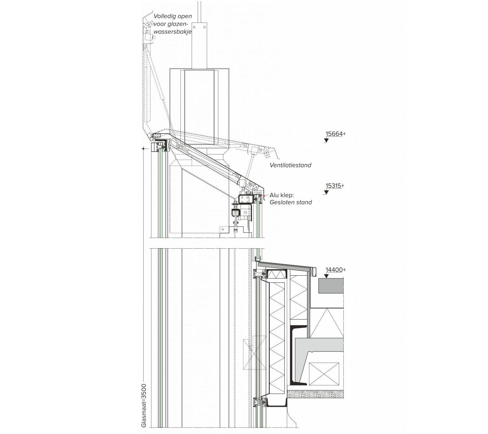 Glas In De Architectuur: Hangende Dubbele Gevel » Bouwwereld.nl