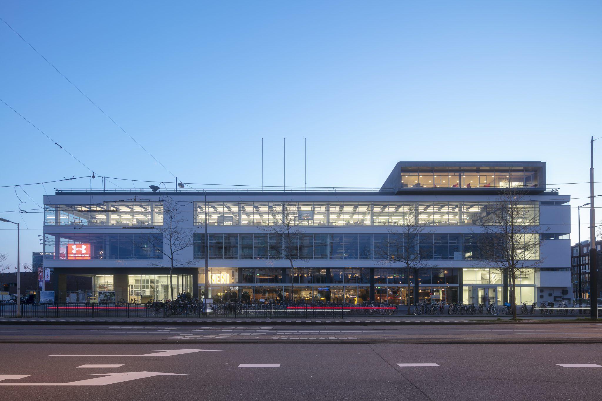 Open structuur Citroengarage Amsterdam