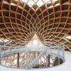 houtconstructie, vogelobservatorium