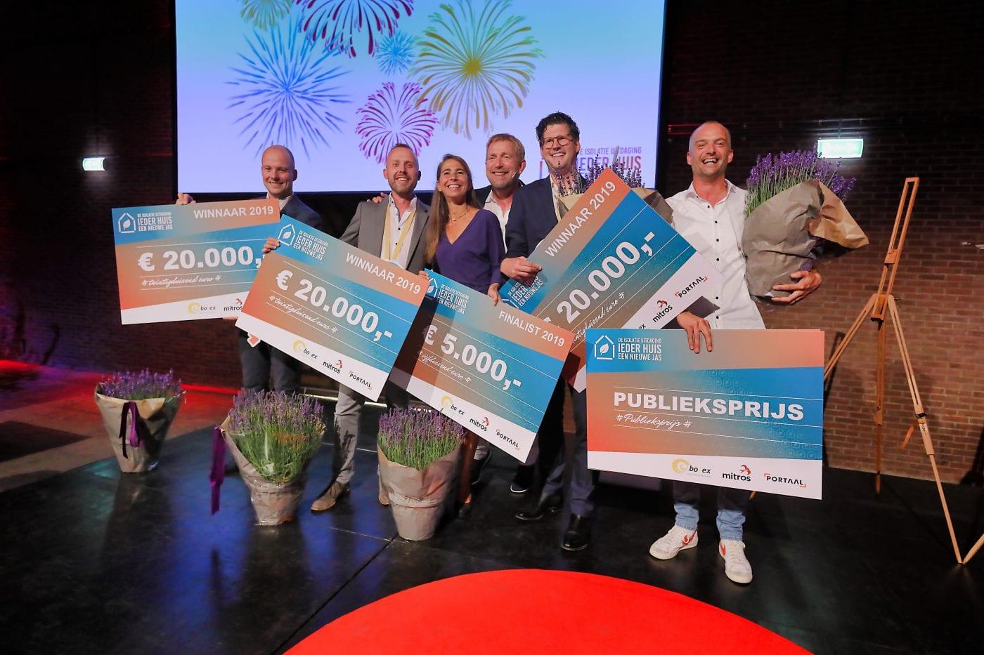 Winnaars & finalisten De Isolatie Uitdaging