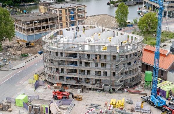 De afwijkende gebouwvorm van 2Peer vroeg om een maatwerkoplossing