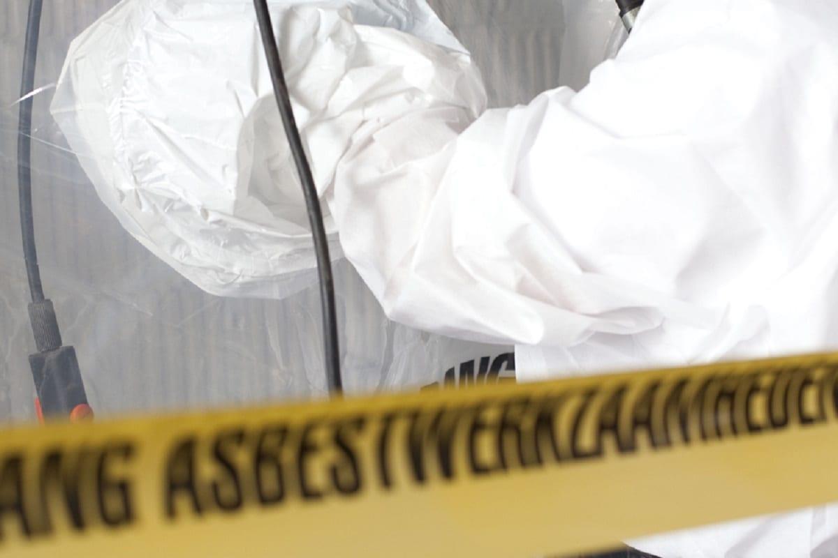 asbest, beglazingskit