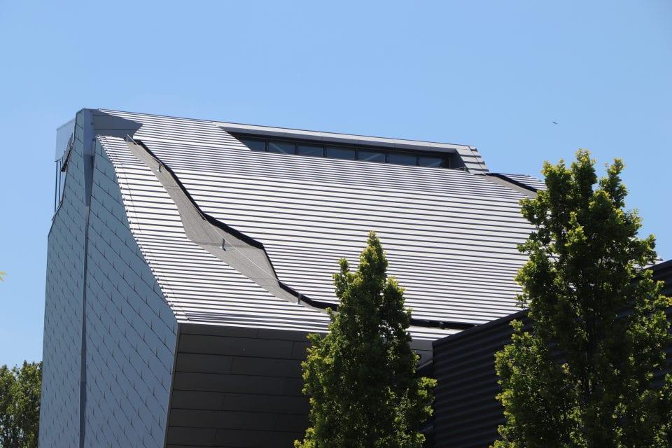 gevel, klimhal, dak, aluminium composiet