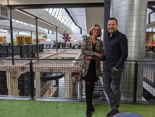 Wilma van Ingen en Herwin ter Riet van Domijn