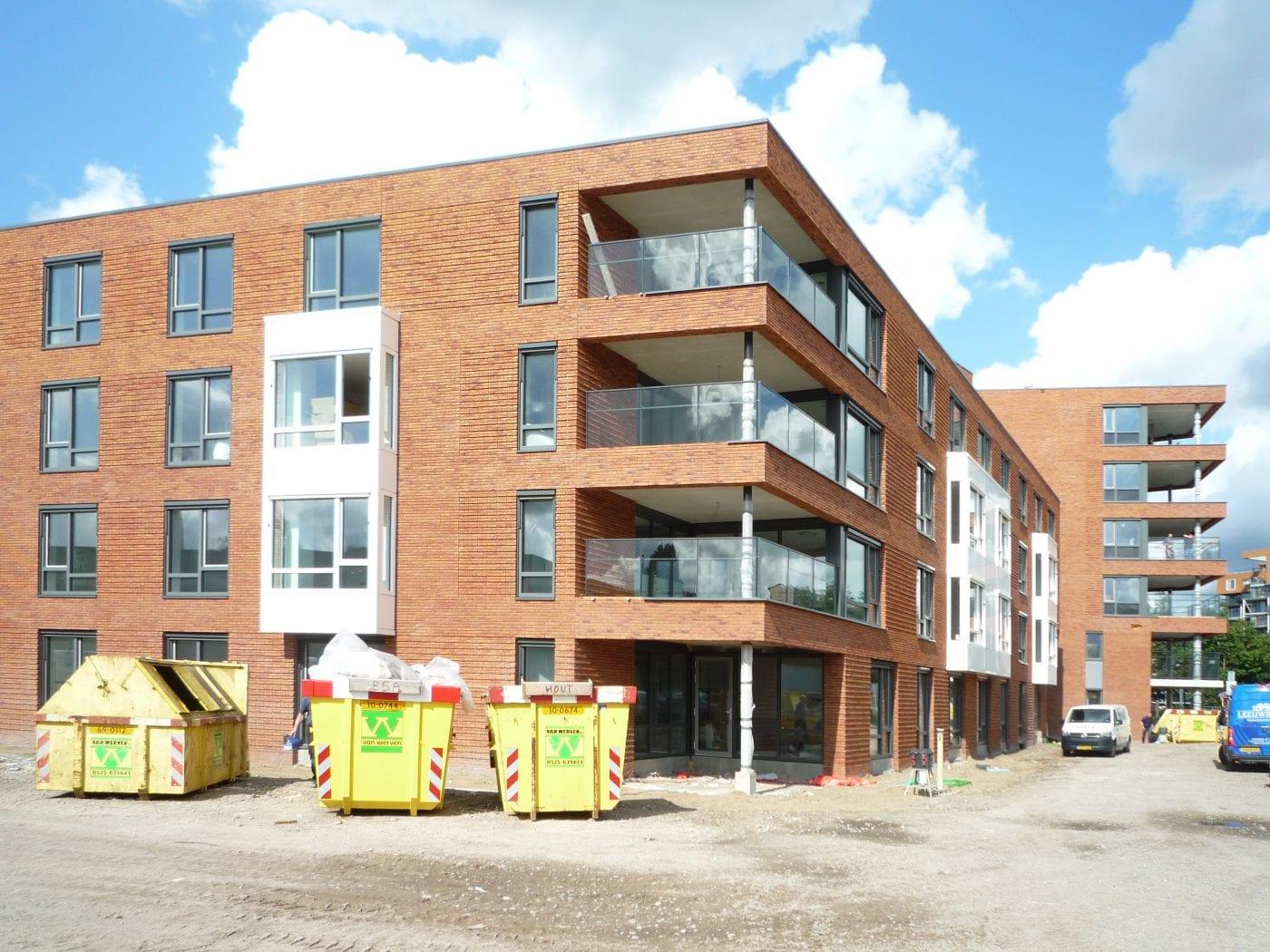 appartementen passiefhuis, apeldoorn, passiefbouw