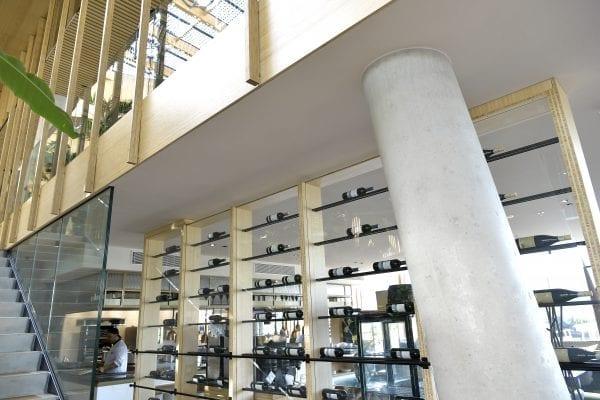ELEGANZA heeft een klasse A geluidsabsorptie en daardoor kunnen hotelgasten in alle rust dineren.