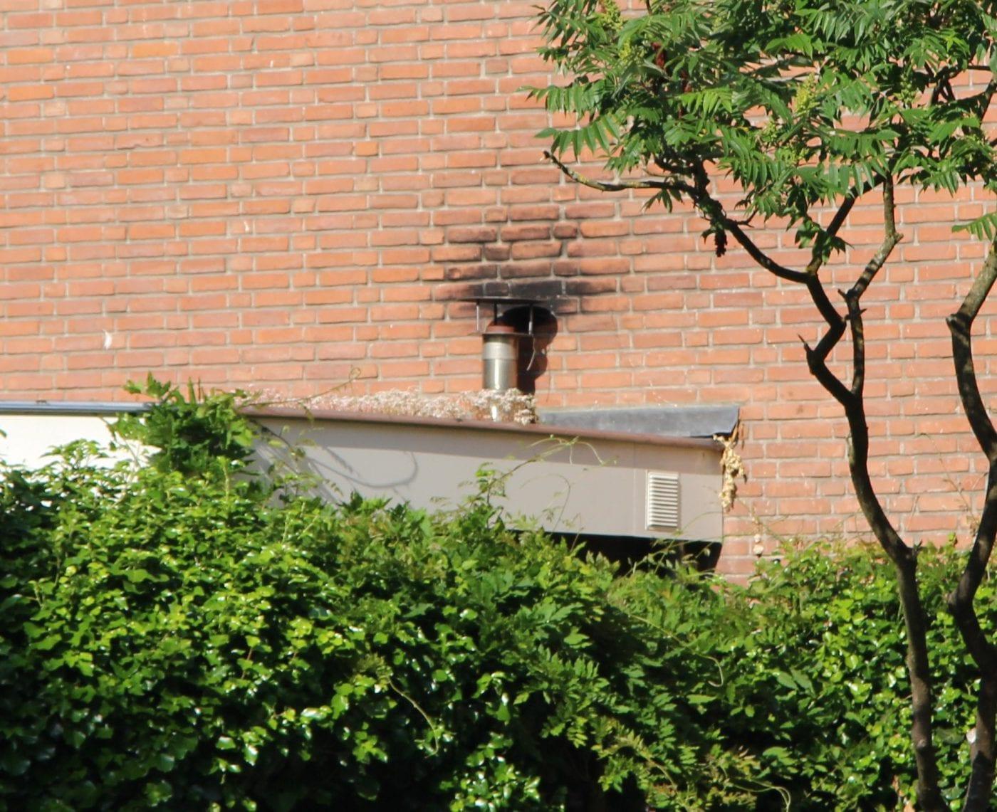 bouwfout roetaanslag