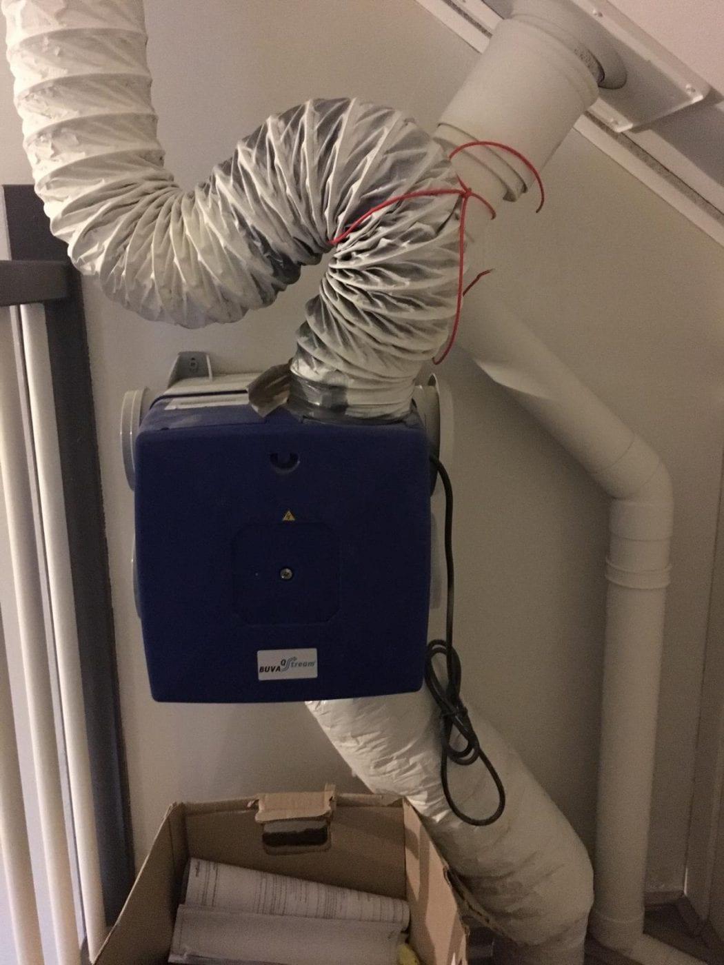 bouwfout ventilatie