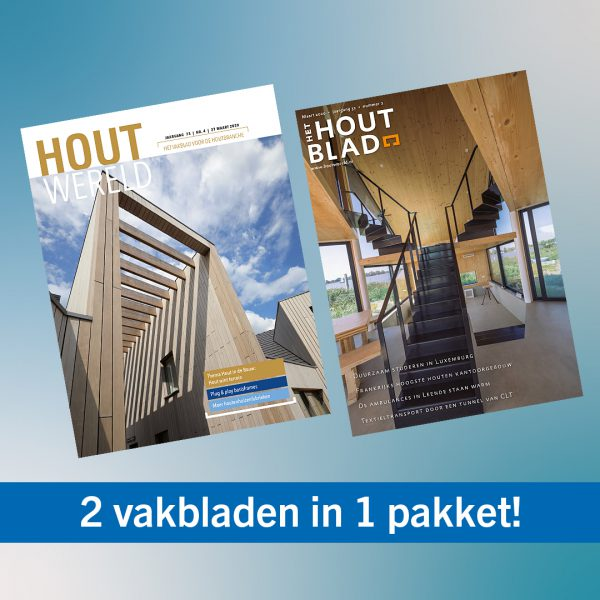 Leespakket Houtwereld en Het Houtblad