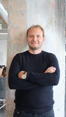 Architect Rogier Alblas vond het ontwerp van het Amsteldok een uitdagende klus