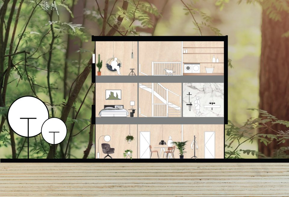 modulaire houtbouw