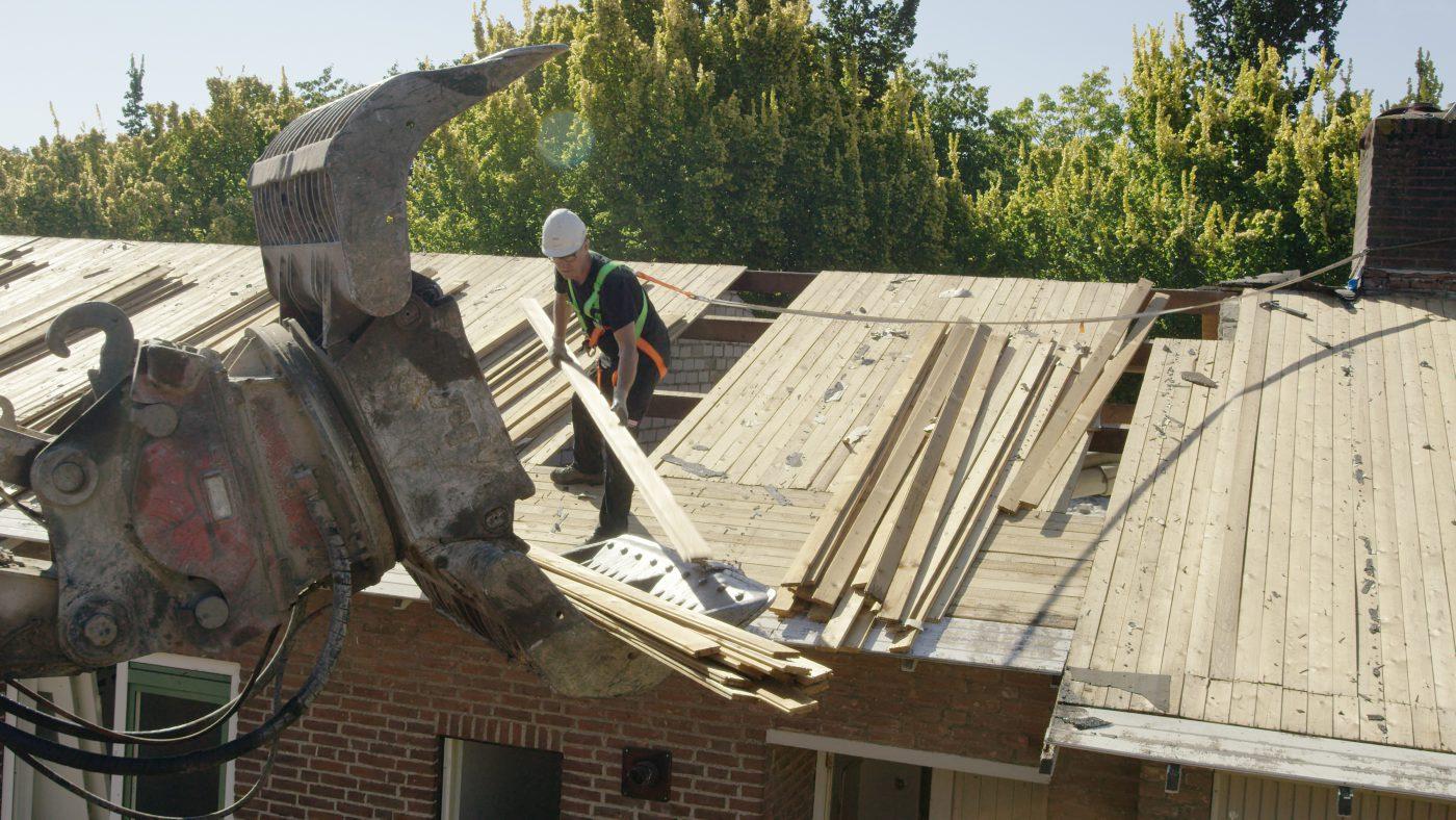 VELUX dakraam van reclaimed hout in renovatieproject Parteon