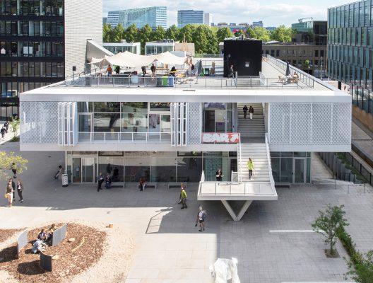 Uitbreiding Rietveldacademie en Sandberg Instituut, Amsterdam
