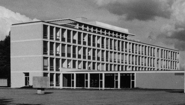 Christelijk Lyceum Veenendaal anno 1968. Foto: Gemeente Veenendaal