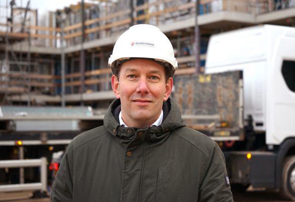 """""""We kiezen voor onze bouwprojecten bewust partners met wie we een langdurige samenwerking hebben"""", stelt projectleider Tjeerd Wouters van Ouwehand Bouwen & Ontwikkelen"""
