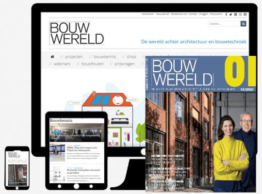 Bouwwereld devices en magazine