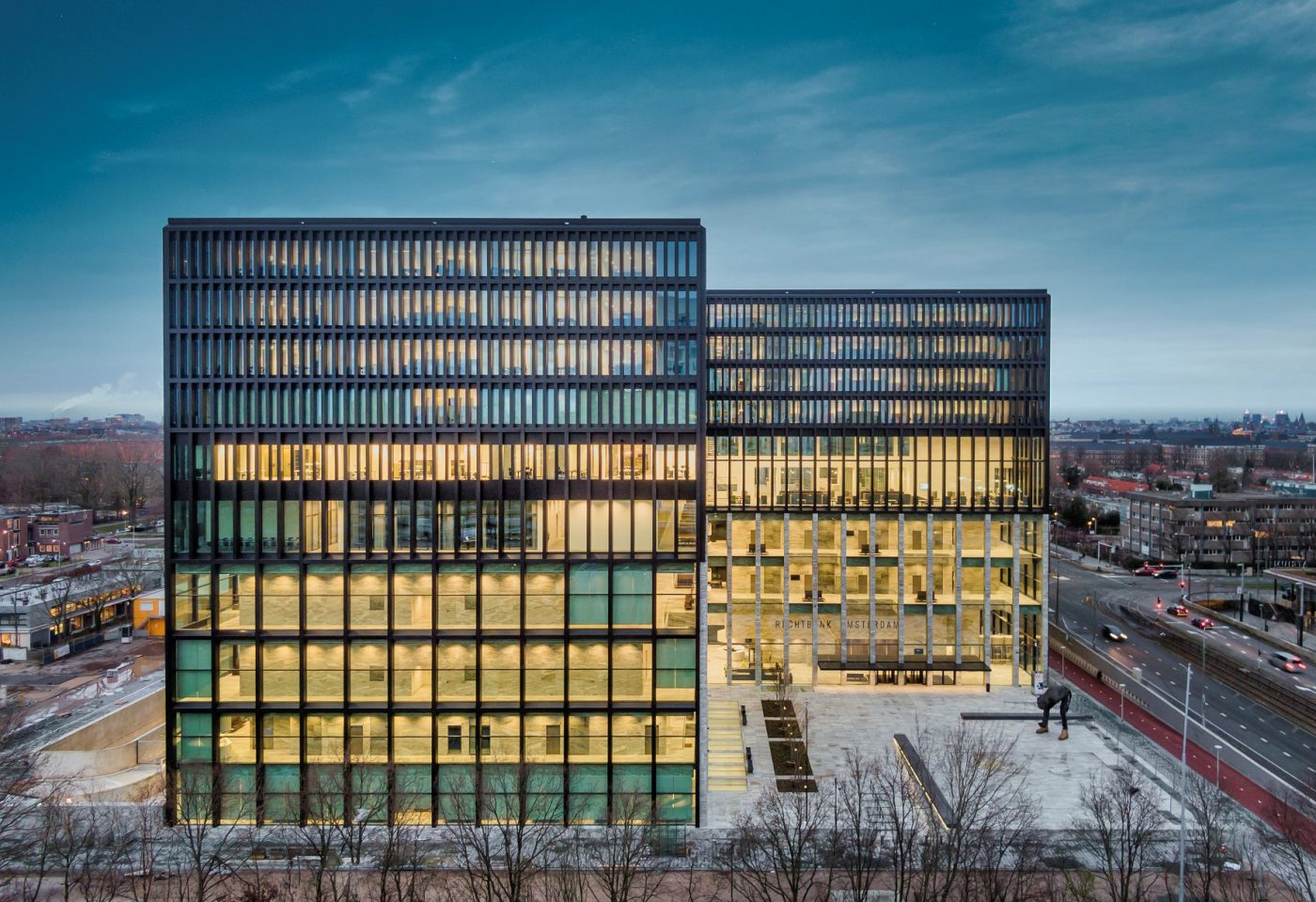 Rechtbank Amsterdam: praktisch en duurzaam gebouw