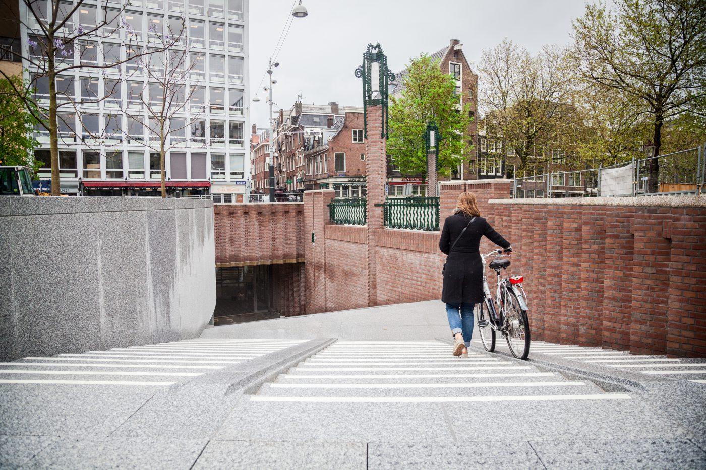 Ondergrondse fietsenstalling Leidseplein ruim opgezet