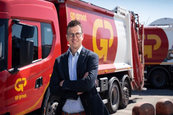 Ronald Balvers, directeur GP Groot Recycling.
