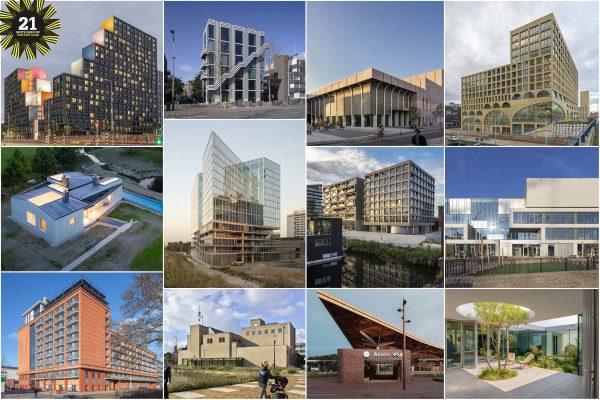 Twaalf genomineerden BNA Beste gebouw 2021