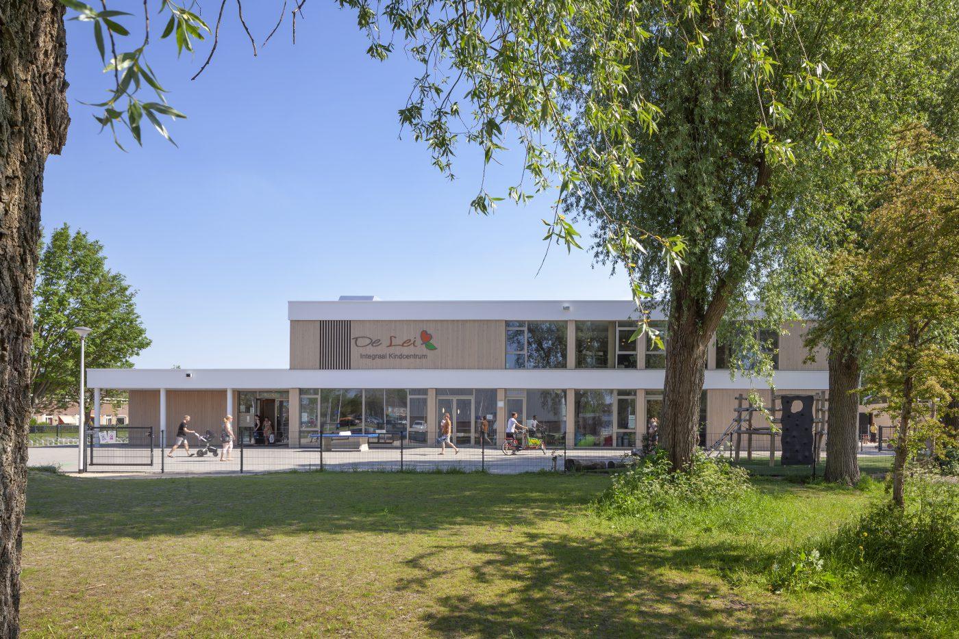 Maximale openheid door demontabel constructiesysteem in IKC Leimuiden
