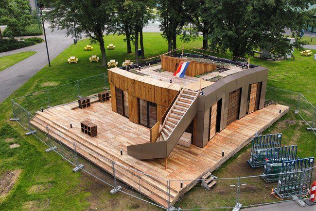 Studententeam VIRTUe bouwt zelfvoorzienend huis