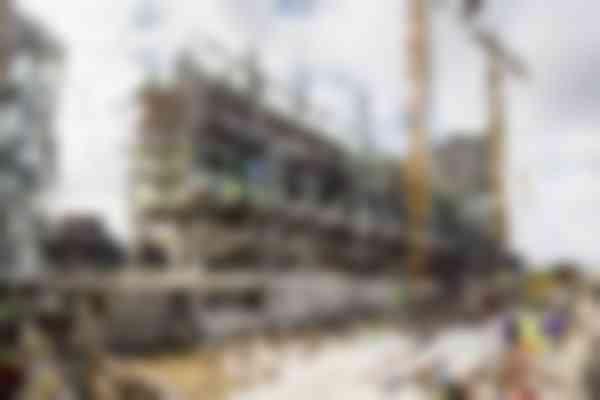 Voor de hoofddraagconstructie is een bouwpakket van stalen elementen ontwikkeld